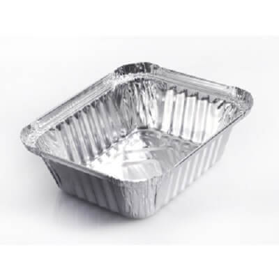 Aluminium Food Container | 250 ML Image