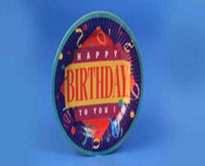 Paper Plate | Birthday Paper Plate  Image