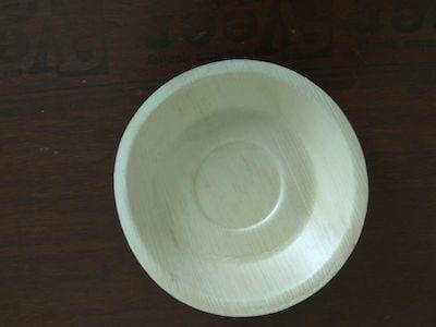 Areca Leaf Round Plate | 6 Inch Image
