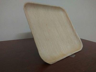 Areca Leaf Square Plate | 8 inch Image
