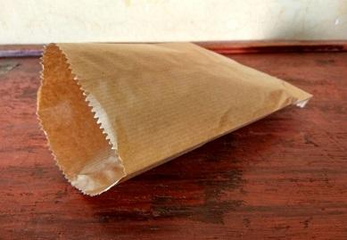 Paper Bag Brown Kraft | 15 CM X 25 CM | 400 GRAM Image