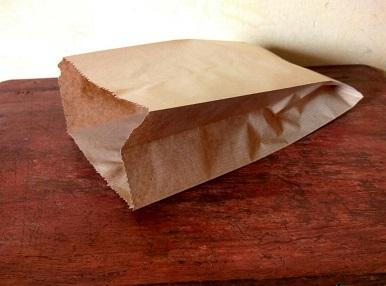Folding Paper Bag Brown Color | 22 CM X 32 CM | 1 KG Image