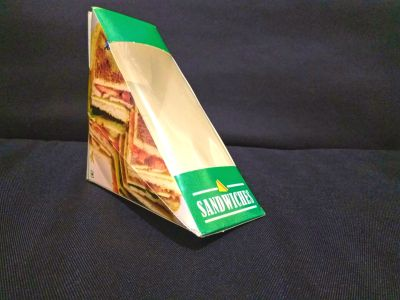 "Sandwich Box | Regular | 6.5"" x 4.8"" x 4.8"" Image"