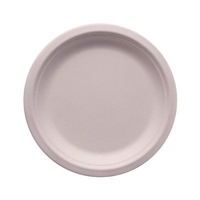 Bagasse Round Plate | 7 Inch Image