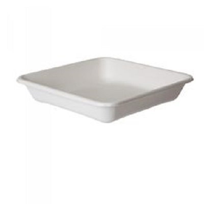 Bagasse Square Plate | 5 1/2 Inch Image