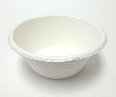 Round Bagasse Bowl | 180 ML Image