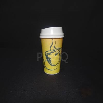 Paper Cup With Lid | 250 ML Image