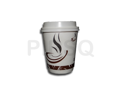 Paper Cup With Lid | Double Coated | 250 ML  Image