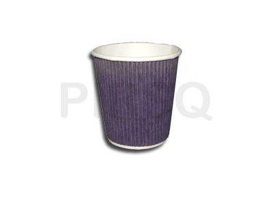 Rippled Paper Cup | 210 ML Image