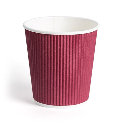Rippled Paper Cup | 250 ML Image