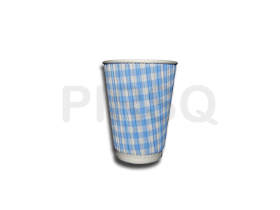 Rippled Paper Cup | 300 ML Image