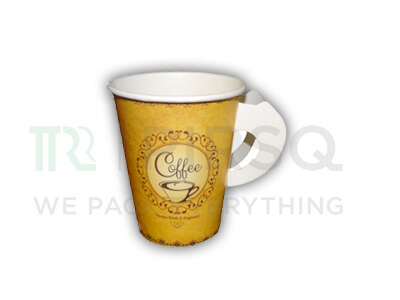 Paper Cup With Handle | 250 ML Image