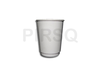 Double Wall Mounted Paper Cup | 250 ML Image