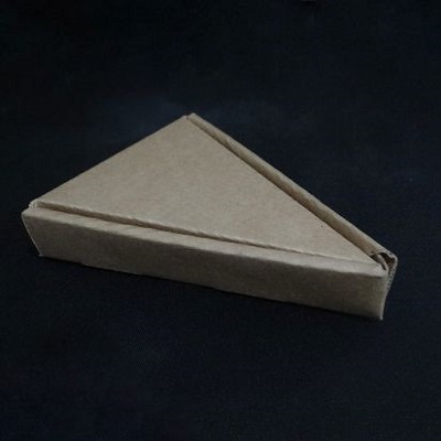 "Pizza Slice Box | L-6.5"" x W-4.5"" x H-1.2"" Image"