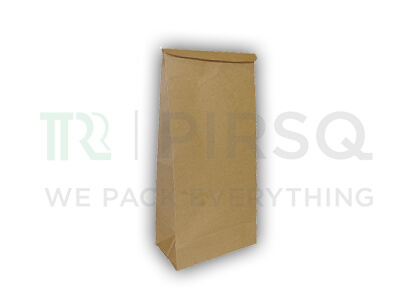 "Recycle Paper Bag | Brown Color | H-12"" x W-6"" x B-3.5""  Image"