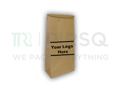 "Paper Bag Brown Color | H-12"" x W-6"" x B-3.5""  Image"