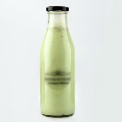 Milk Bottle with Logo | 1 Litre Image