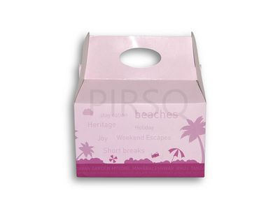 Cake Box With Handle Image