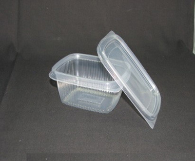 Plastic Container with Lid | 350 ML | DL Image