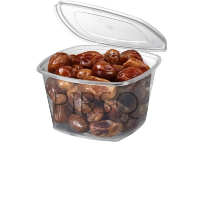 Square Tub With Lid | W/L | 500 ML Image