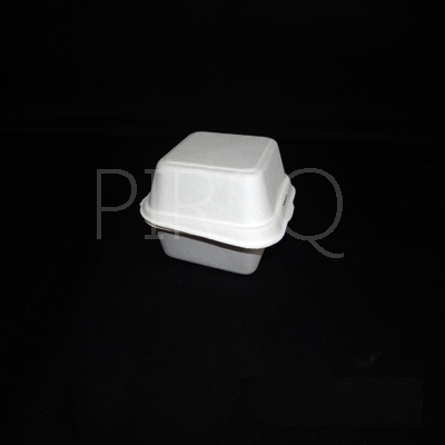 Bagasse Burger Box With Lid  Image