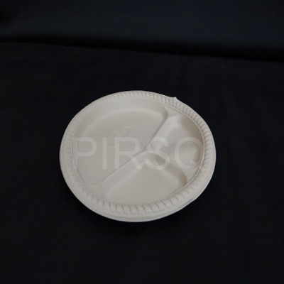 "Cornstarch Plate | 3 Section | 10""   Image"