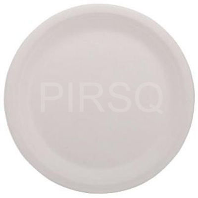 "Bagasse Round Plate | 10"" Image"