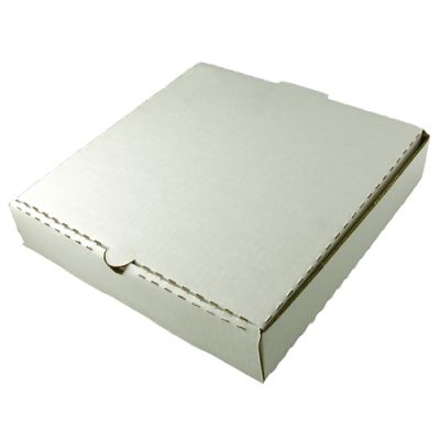 Pizza Box | White Color | 9 INCH Image