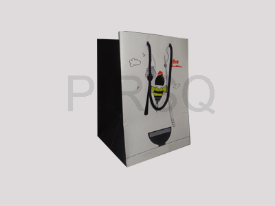 "Paper Bag with Handle | H - 10"" X W - 7"" X G - 6.5"" Image"