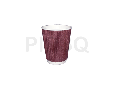 RIPPLED PAPER CUP | 150 ML Image