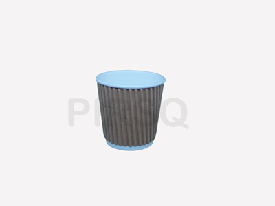 RIPPLED PAPER CUP | 100 ML Image