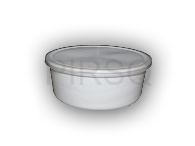 White Round Plastic Container | 750 ML Image