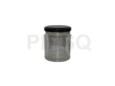 Glass Jar With Cap | 200 ML Image