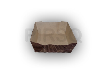 BAKING PAPER MOULDS | SQUARE | 100 GRAMS Image