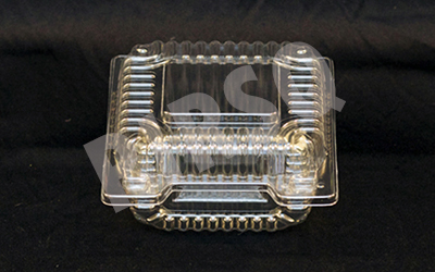 Transparent Sweet Box with lid | Square | 50 Grams Image