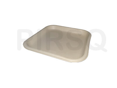 Bagasse Square Plate 8 INCH Image