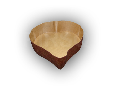 BAKING PAPER MOULDS | HEART | 100 GRAMS Image