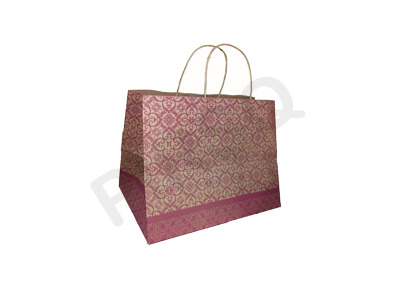 Celebration Paper Bag With Handle | W-20 CM X L-29 CM X H-23 CM Image
