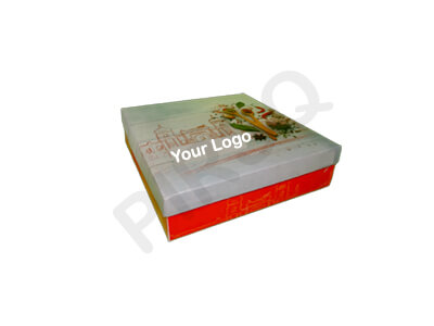"Customized Paper Box With Lid | W-8"" X L-8"" X L-2"" Image"