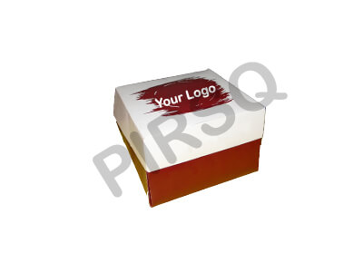 "Customized Paper Box | W-6"" X L-6"" X H-4"" Image"