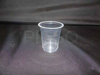 Plastic Glass With Lid 250 ML Image
