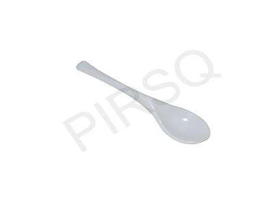 Plastic Spoon | White | Small  Image