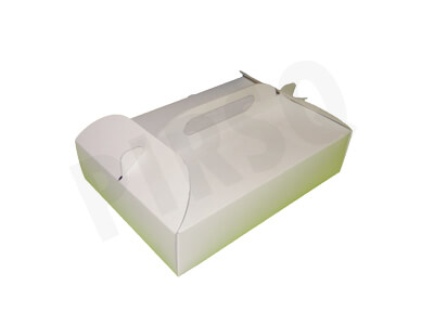 Paper Meal Box With Handle | Large Image