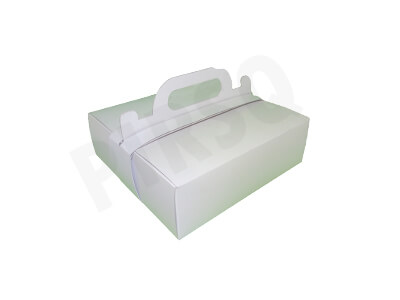 Paper Meal Box With Handle | Small Image