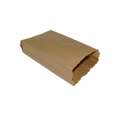 Brown Paper Bag | kraft | L-26 CM X W-14 CM Image
