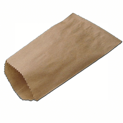 Brown Kraft Paper Bag | Flat | L-42 CM X W-60 CM Image