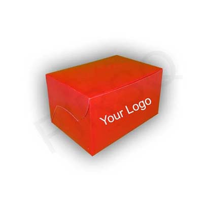 "Paper Box With Logo | W-5"" X L-7"" X H-4"" Image"