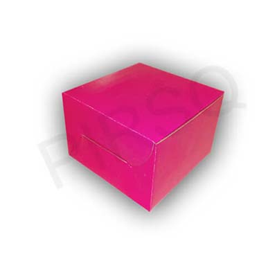 "Customized Cake Box | 1 KG | W-8"" X L-8"" X H-5.5"" Image"