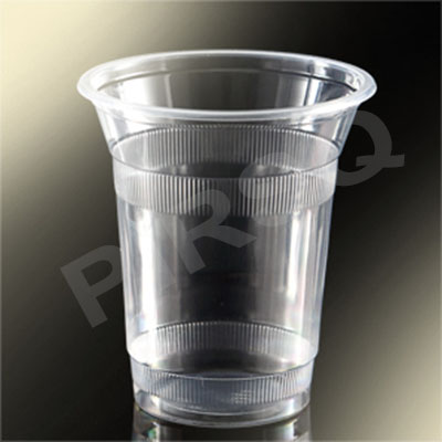 Transparent Plastic Glass | 350 ML Image