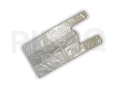 "Biodegradable Carry Bag | W-8"" X L-16"" Image"
